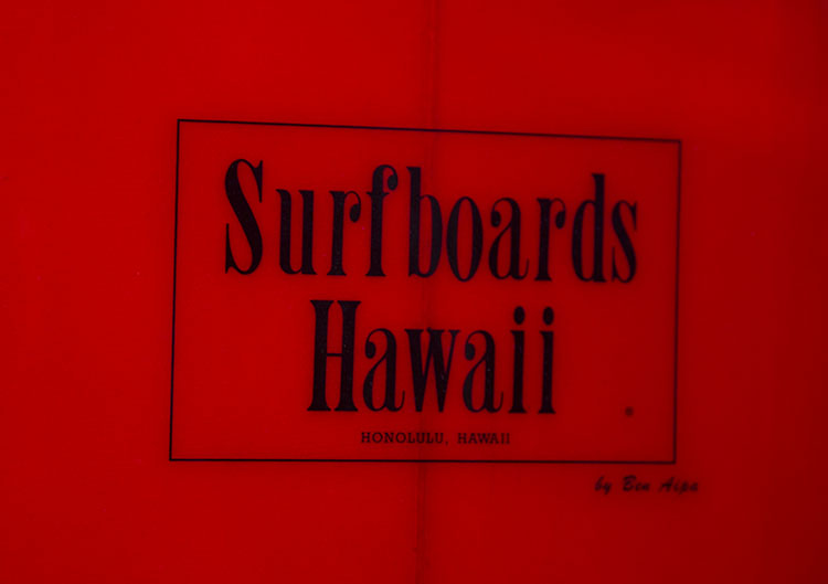 7 0 Surfboards Hawaii By Ben Aipa Early 1970s Vintage Surfboards