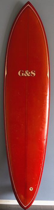 Gordon & Smith (G&S) 7'8 single fin gun #08417 | All original (mid 1970s)