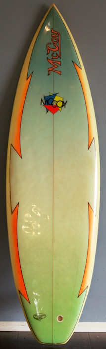 McCoy 5'9 thruster | All original (mid 1980s)