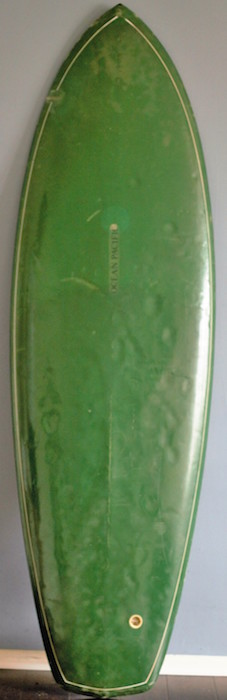 Ocean Pacific (OP) single fin #29823 6'0 All original (mid 1970s)