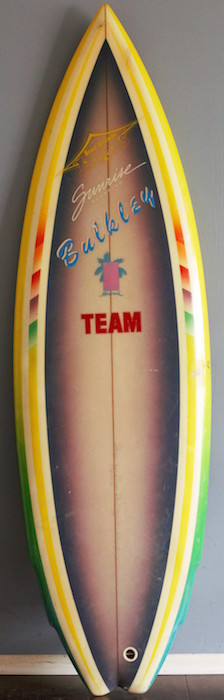 Jacobs Team Rider 4-fin by Brian Bulkley 5'8 | All original (mid 1980s)