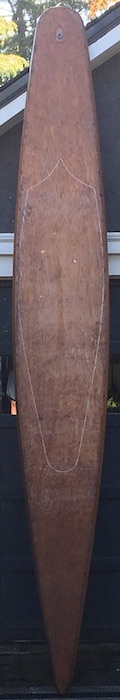 Pair of Hollow wooden boards (1930s)
