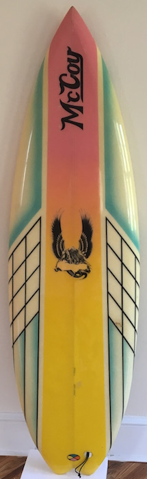 McCoy Cheyne Horan model 5'8 Lazor Zap | All original (early 1980s)