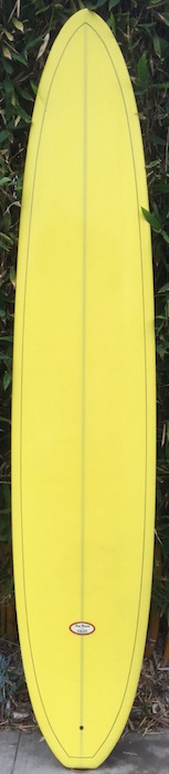 Dale Velzy shaped kicktail pig longboard (late 1990s)